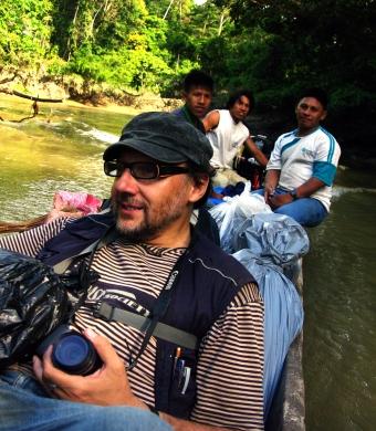 RIo Yasuni, investigación de campo 2011.